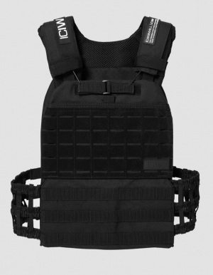ICANIWILL Weight Training Vest v2 Black - L