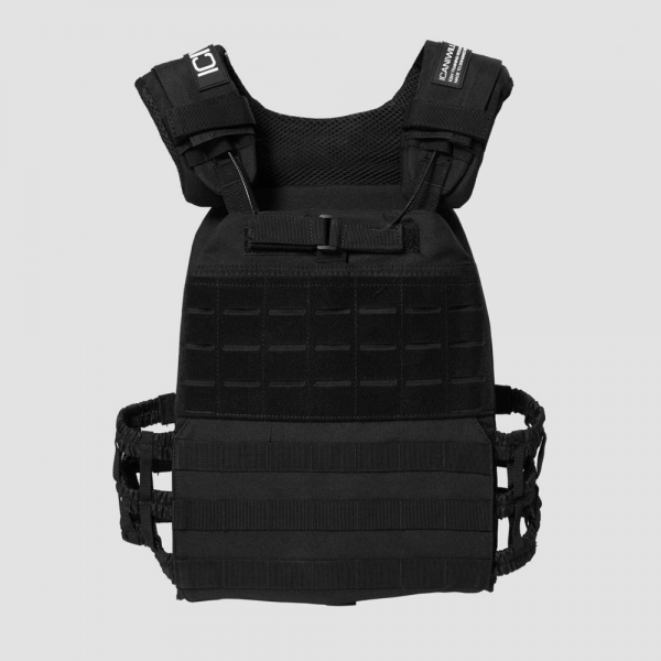 ICANIWILL Weight Training Vest v2 Black - S